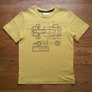 Size 8 boy Hanna Andersson t-shirt